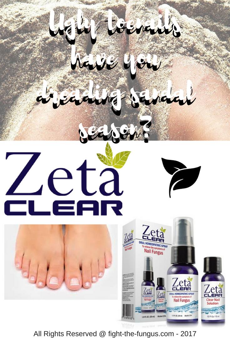 Ugly toenails have you dreading sandal season? | Nail Fungus Fungal ...