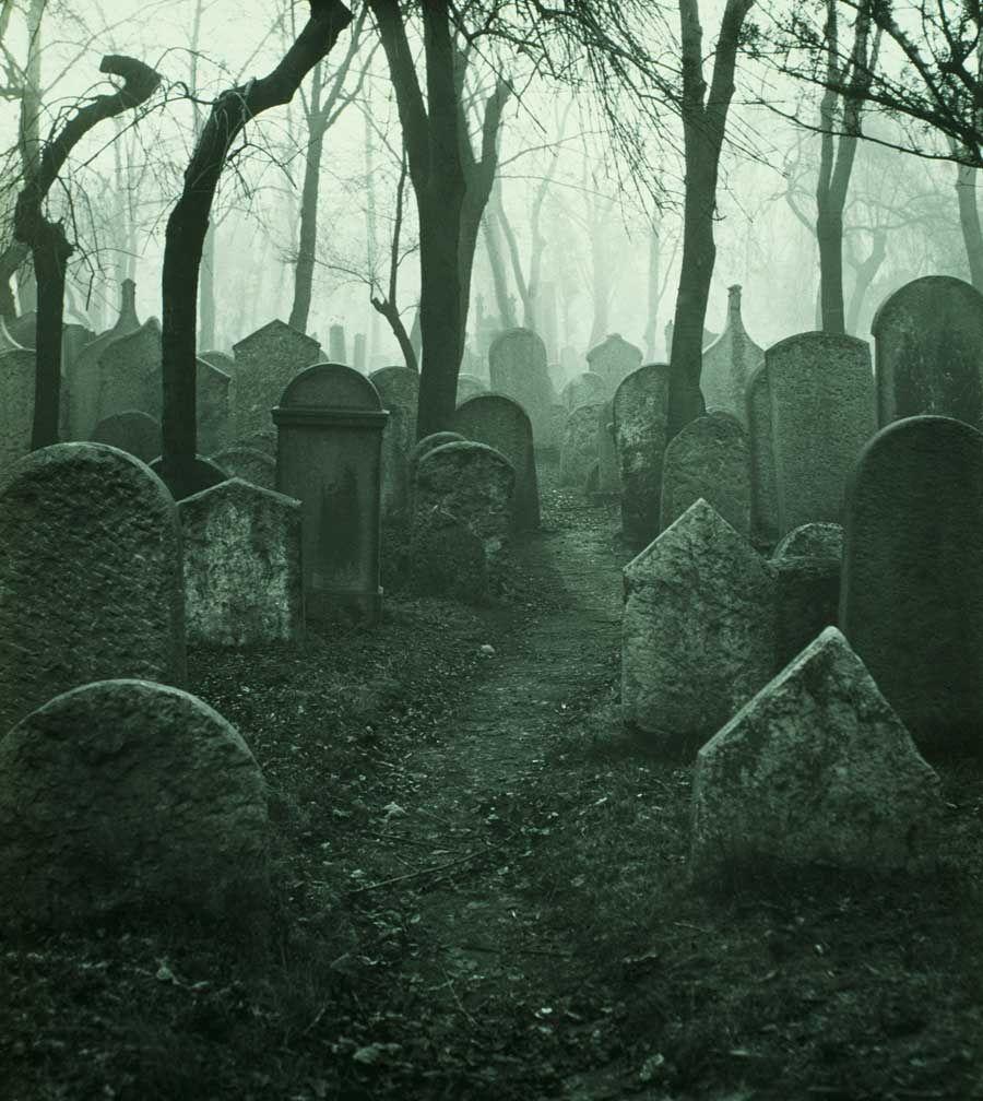 Jewish cemetery of Josefov (Prague).