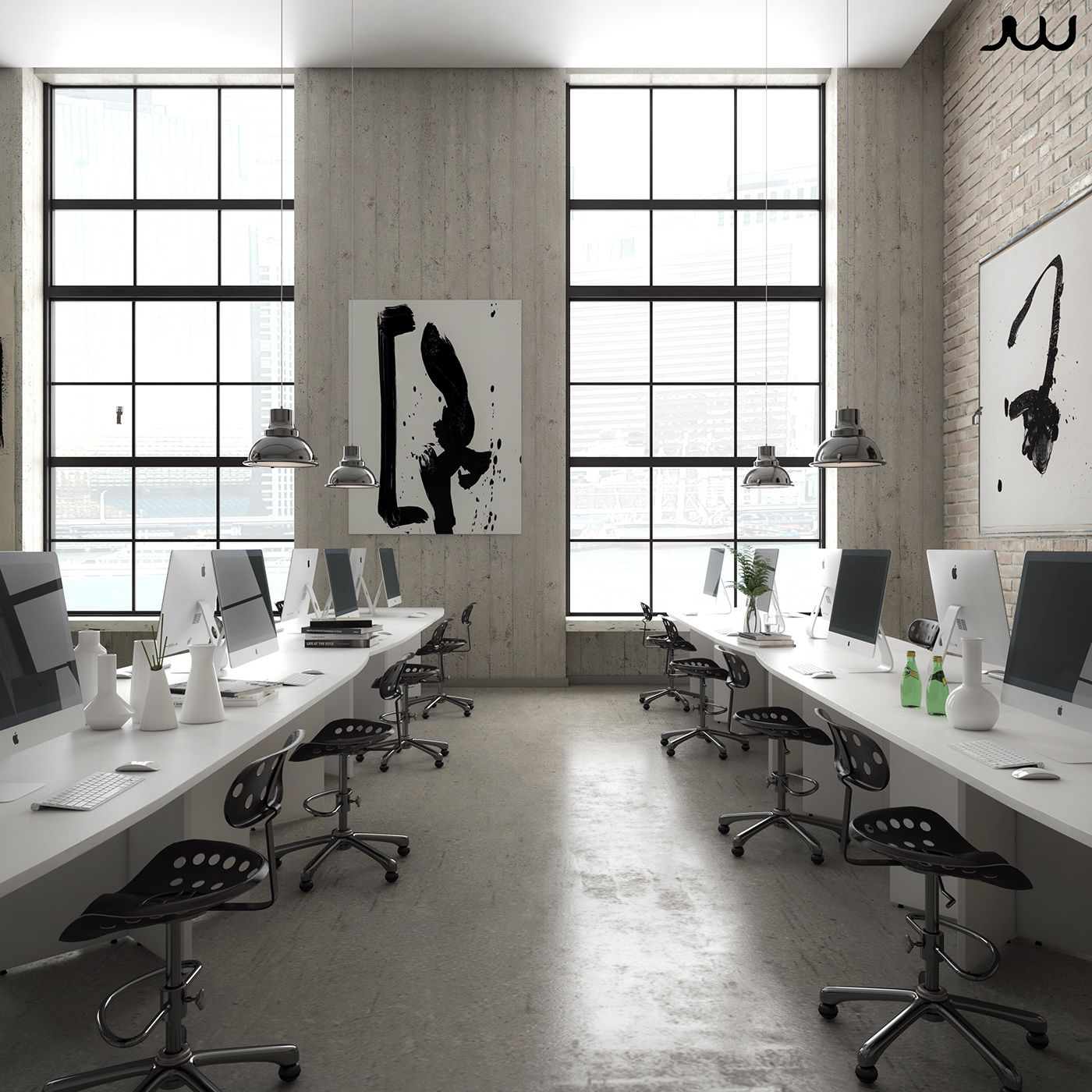 "Check out this @Behance project: ""Loft Office"" https://www.behance.net/gallery/44790283/Loft-Office"