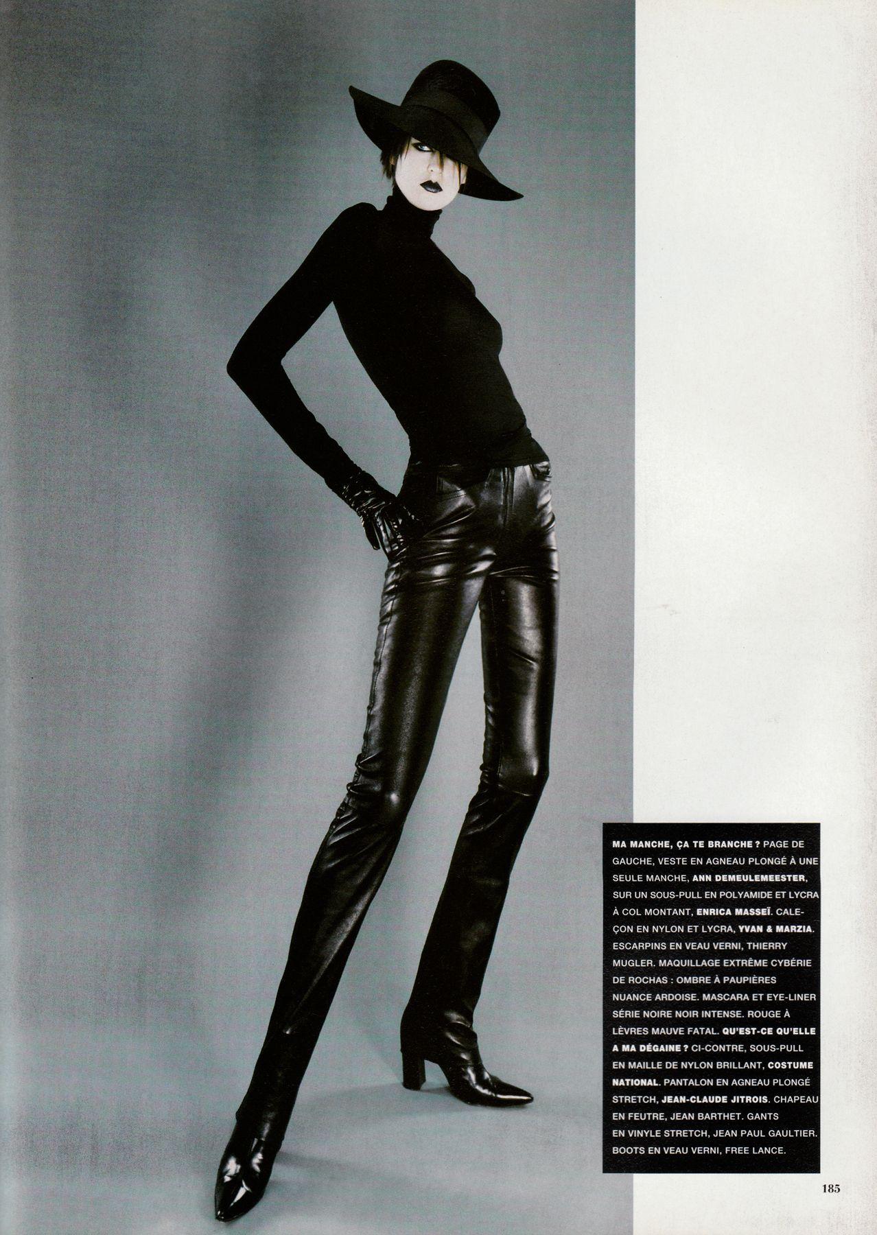 ☆ Stella Tennant | Photography by Jean Baptiste Mondino | For Vogue Magazine France | December 1996