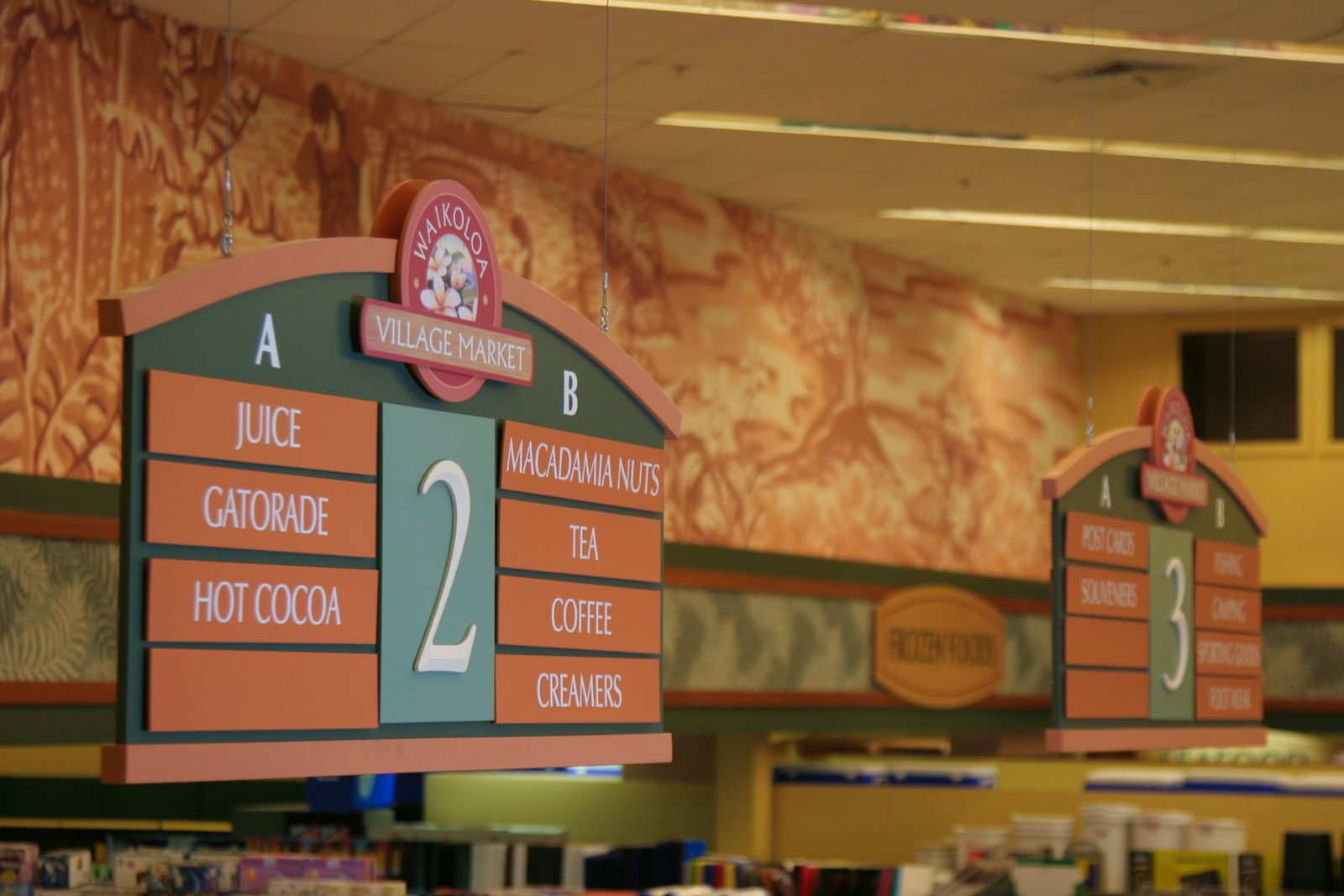 Grocery Sign Design