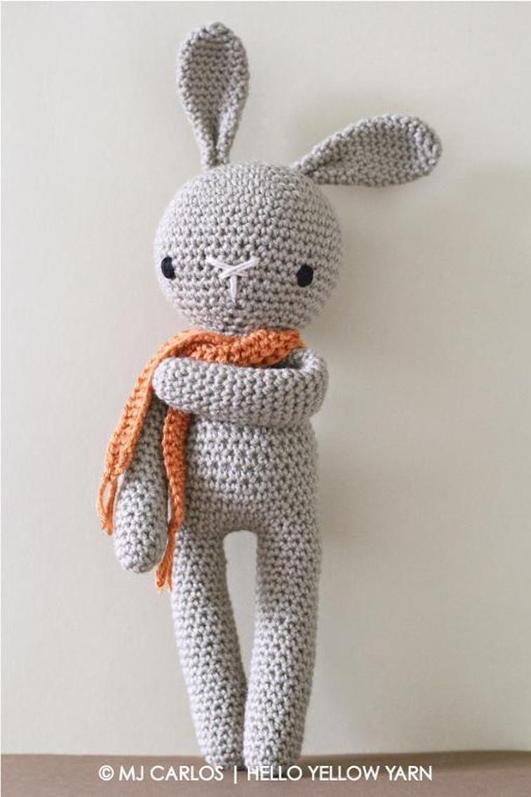 Crochet Amigurumi Bunny Pattern Craftsy Baby Ellie Crochet