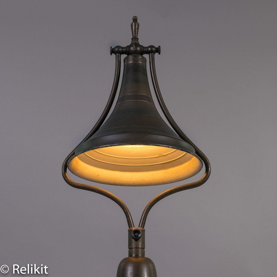 Light Fixtures Rochester Ny: Antique Brass Adjustable Double Light Medical Doctor's