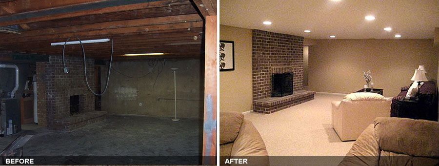 finished basement before and after. Finished Basements Before And After Old Basement Before And After Remodel  Complete Basement Remodel Of