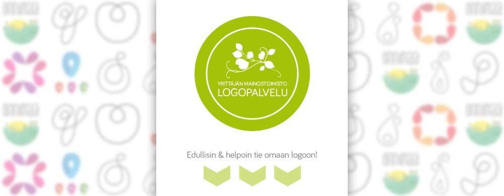 Maijamedian logopankista hankit yrityksellesi logon nopeasti ja vaivattomasti!