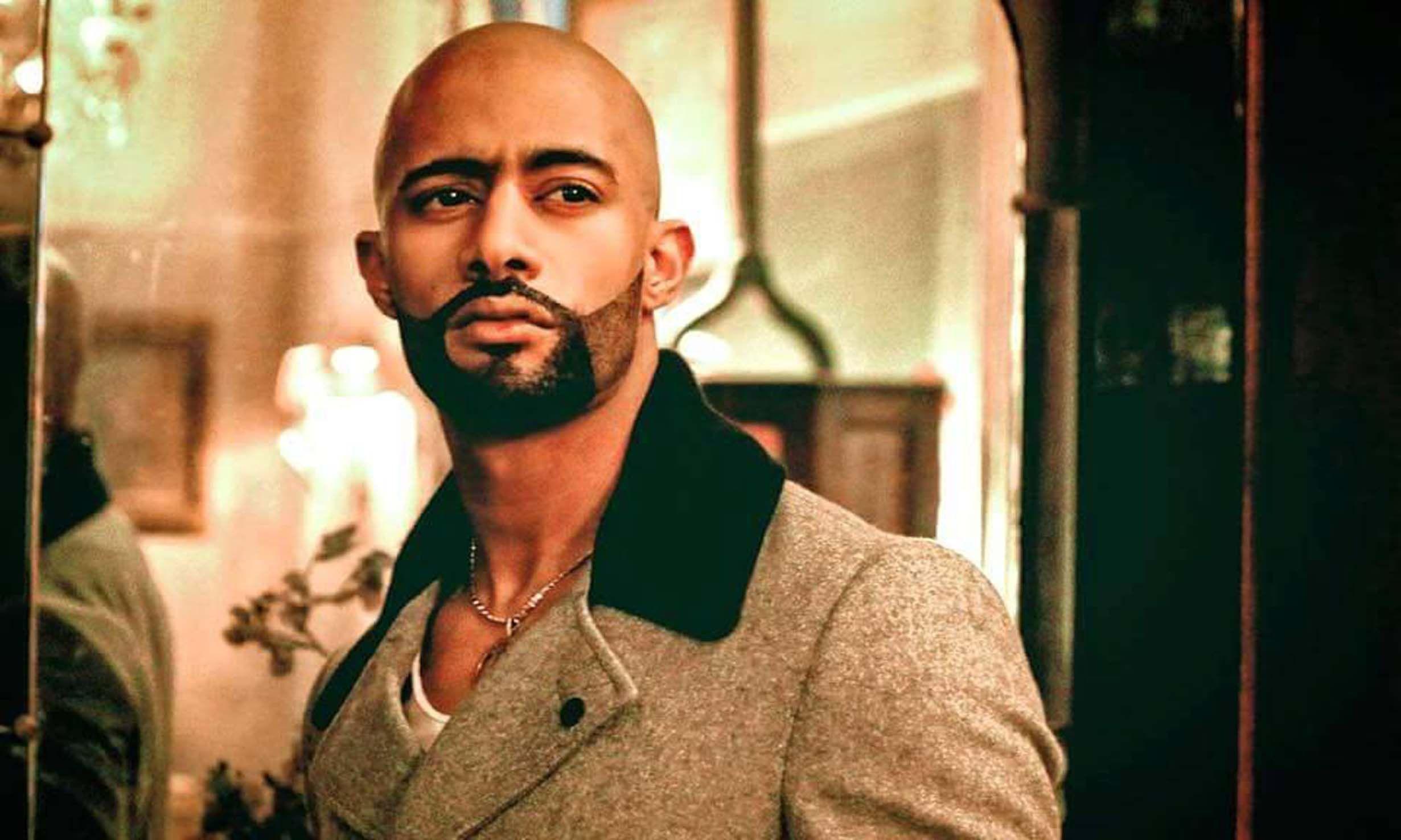 محمد رمضان من مسلسل الاسطورة Ramadan Actors Round Sunglass Men