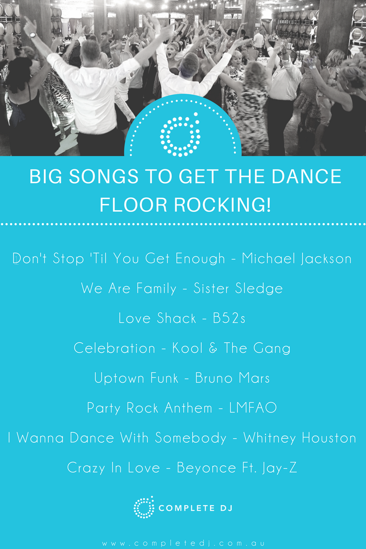 Clic Wedding Floor Fillers Music Hits That Will Get Your Dance Going Off
