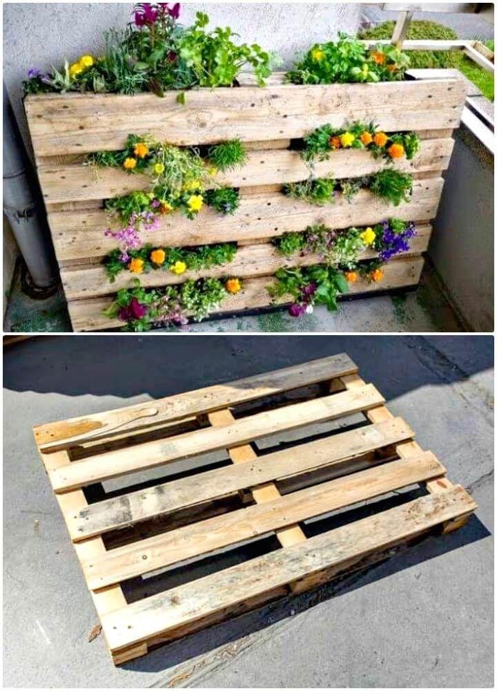 Diy Pallet Garden 30 Diy Pallet Garden Projects To 640 x 480