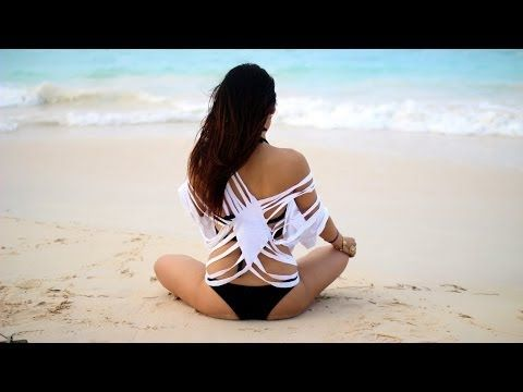 aaf539bd79 DIY Swim Cover-up from Old T-Shirt - YouTube