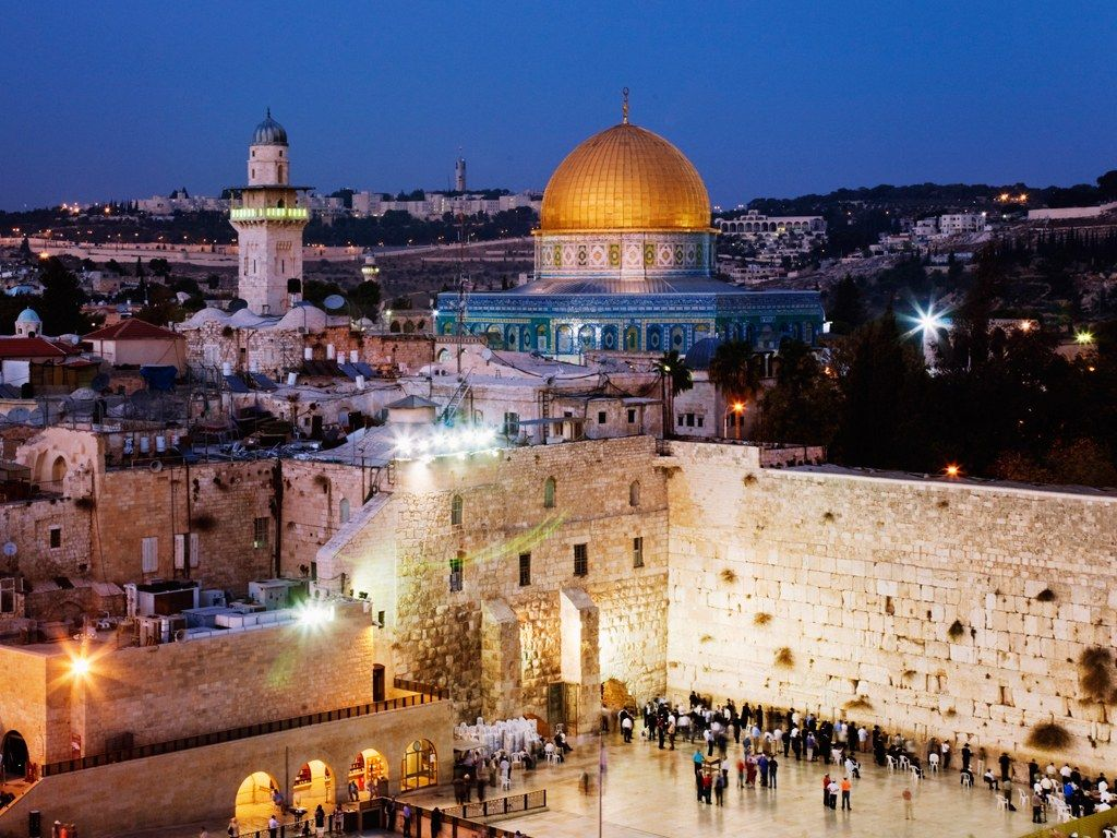 traveling in Jerusalem, Israel