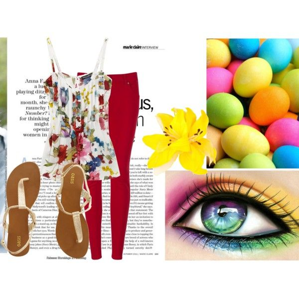 spring!!!, created by headprankster on Polyvore