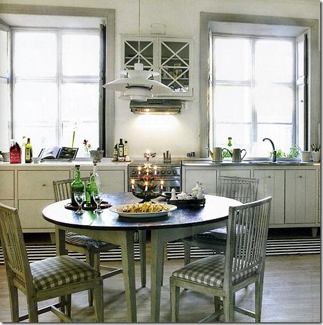 a lovely cosy Swedish kitchen  27