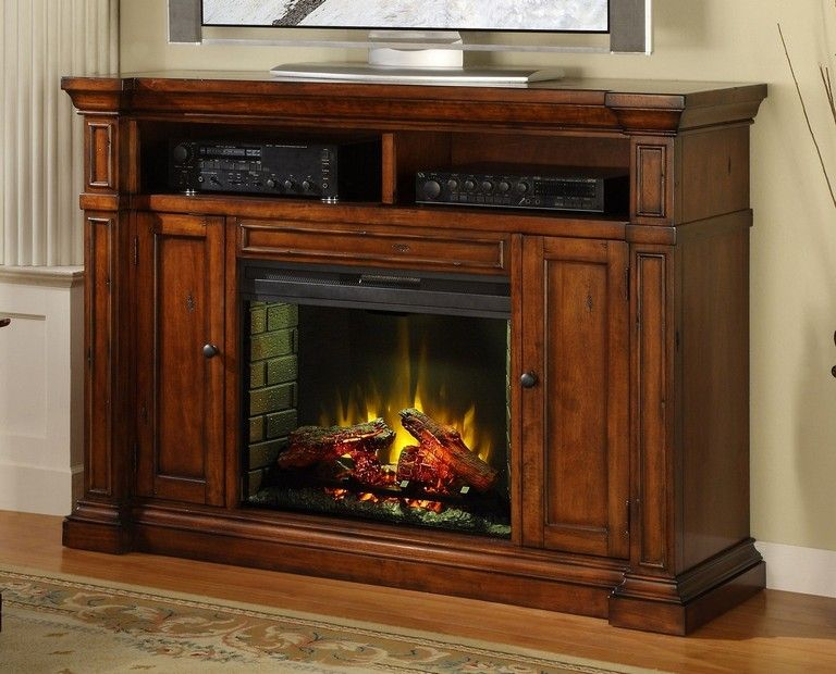 32+ Top Electric Fireplace TV Stand Design Ideas For Your