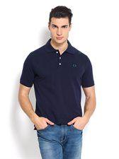 Navy Pique Polo T-shirt   Nord51