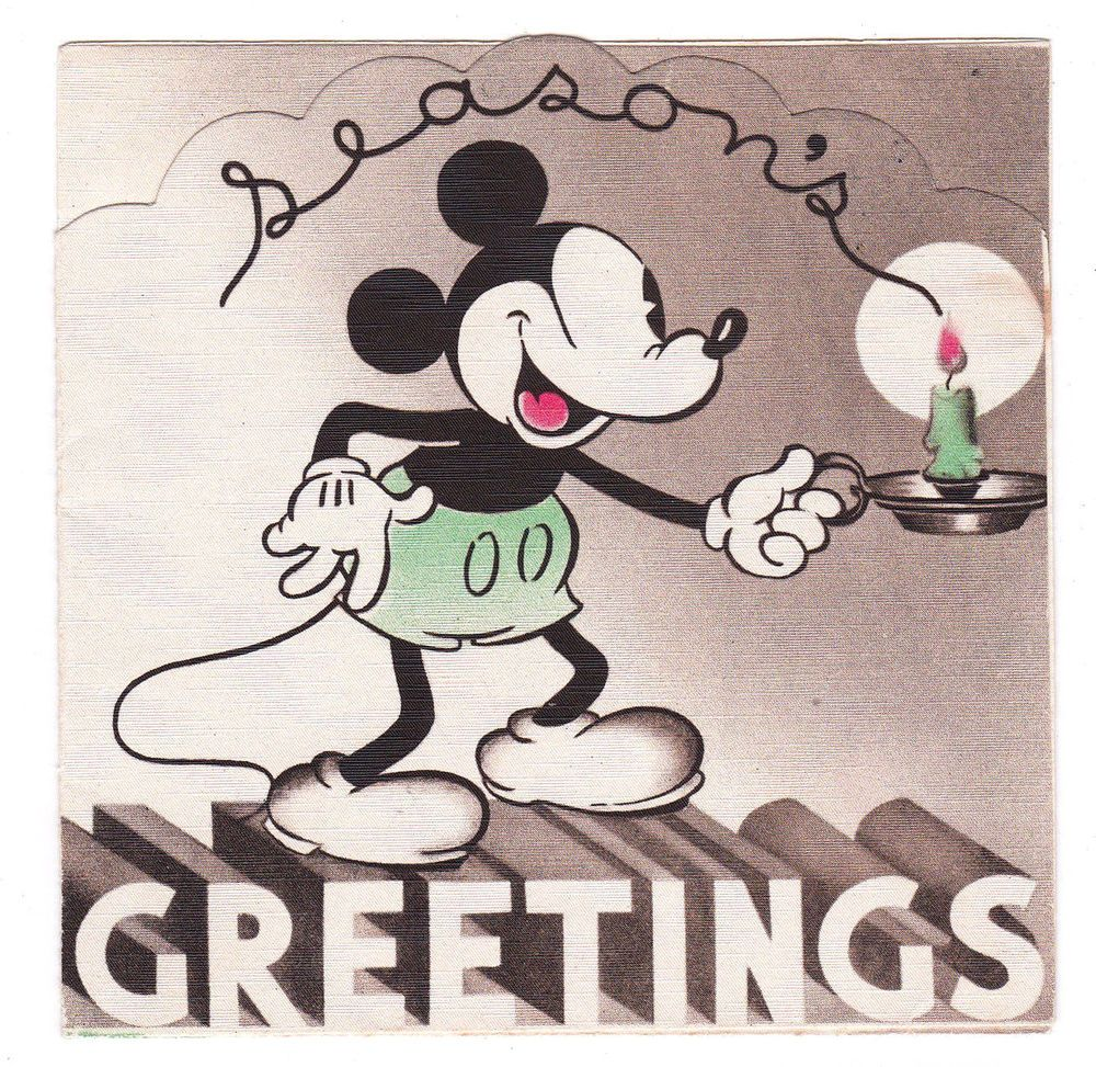 American Greetings Disneg Mickey and Minnie Birthday card Brand new