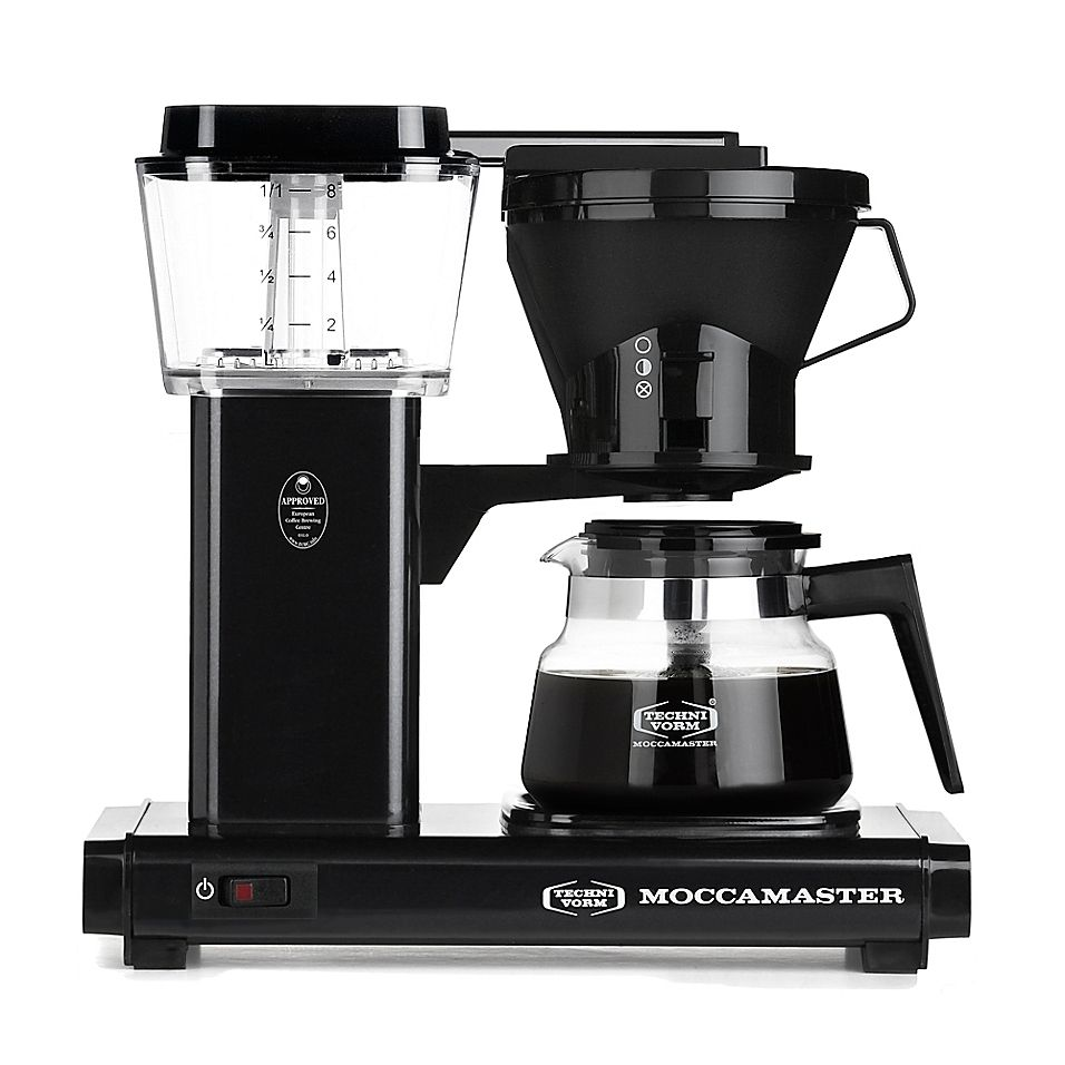 Technivorm Moccamaster 8Cup Glass Carafe Coffee Brewer In