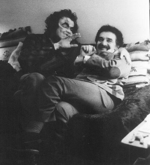Julio Cortazar and Gabriel Garcia Marquez