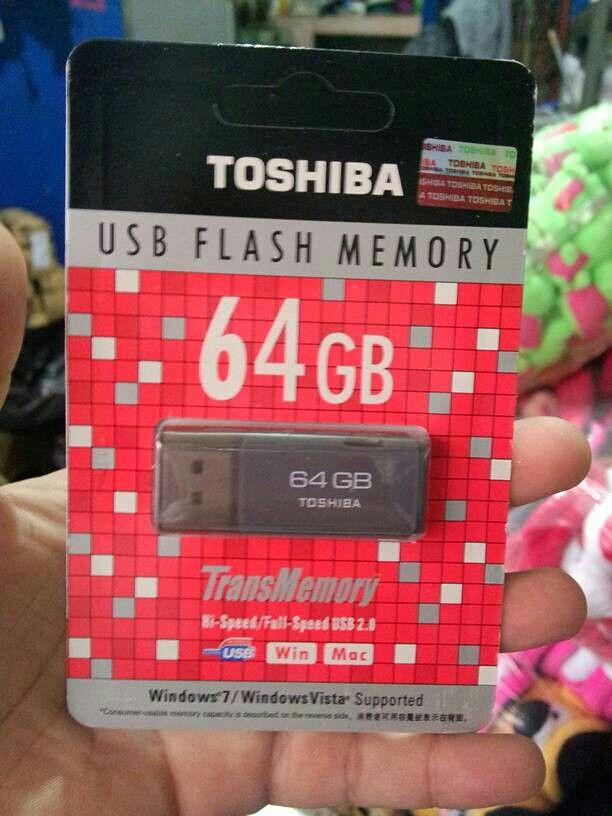 Flash Disk Toshiba 64 Gb Rp 75 000