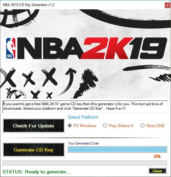 nba 2k16 activation key free for pc