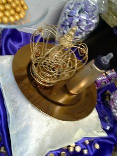 Royal+prince+baby+shower+decorations | Purple Gold Royal Baby Shower Crown