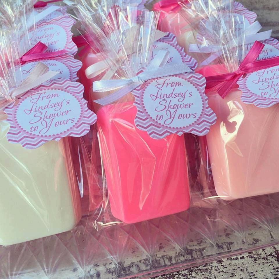 10 BAR SOAPS Favors Birthday Party