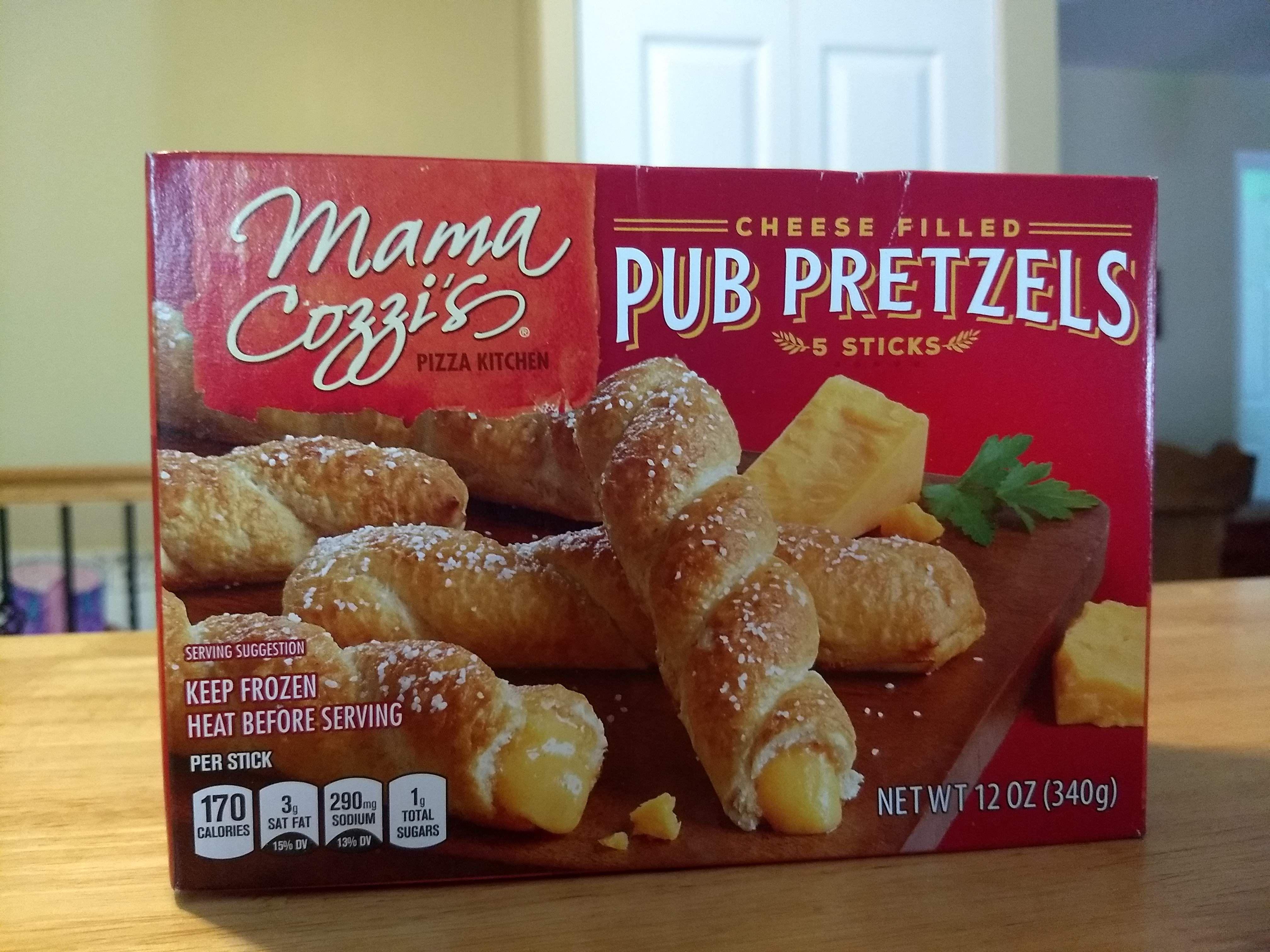 Mama Cozzi S Cheese Filled Pub Pretzels Food Special Recipes