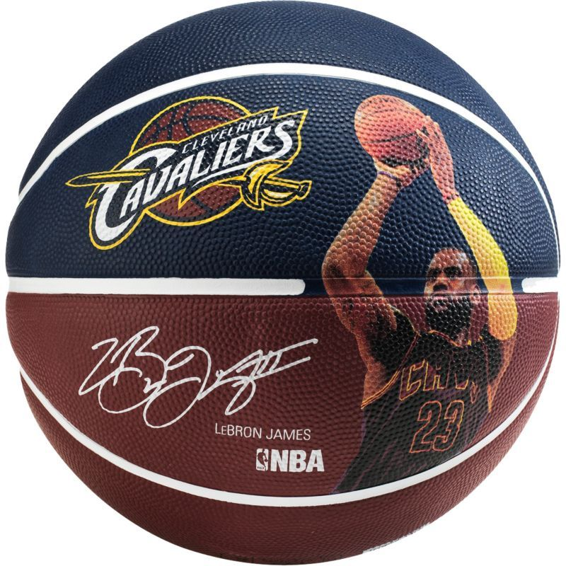 Spalding LA Lakers NBA Team Outdoor Rubber Cover Basketball