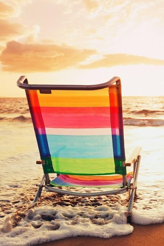 Colorful Beach Chair