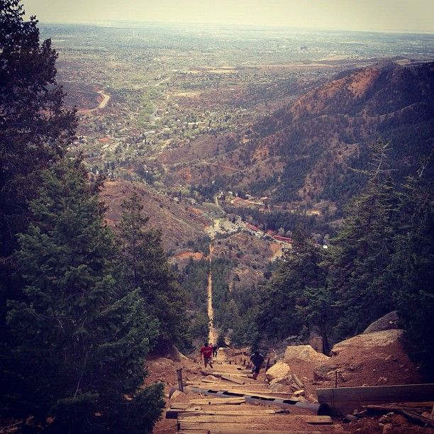 """""""View from halfway up incline from my hike today. Tough climb, but worth it for the view!"""" tweeted by SarahHilmer & """"like"""" us on facebook for more local pics https://www.facebook.com/SpringsTourism"""