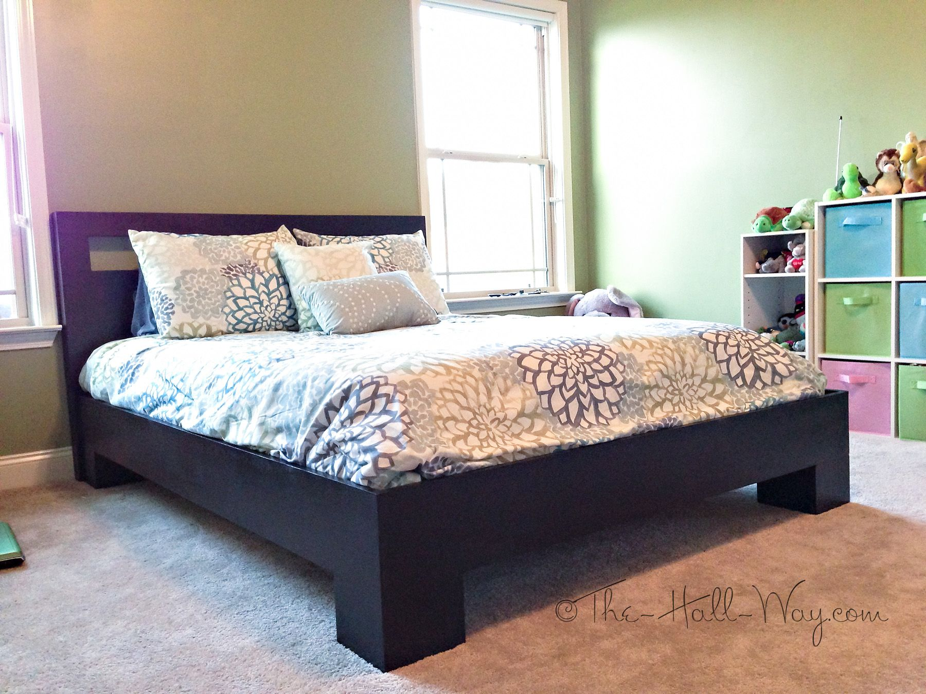 Charming Chunky Leg Bed | Do It Yourself Home Projects From Ana White