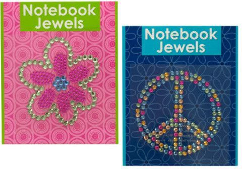 notebook jewels Case of 24