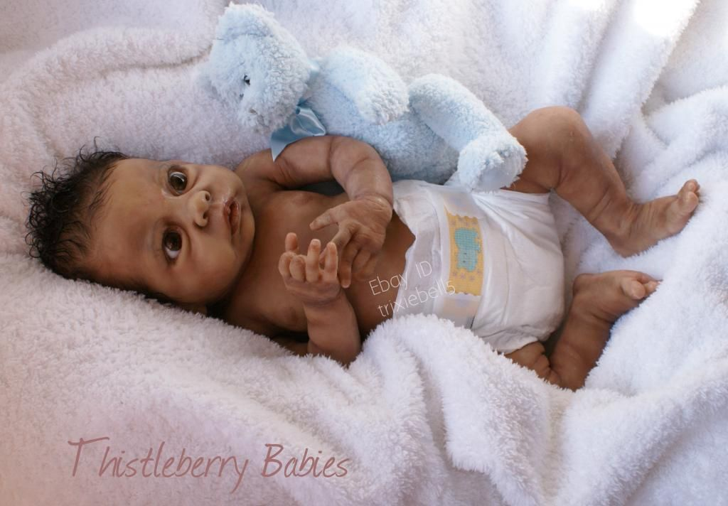 Thistleberry Babies Full Body Solid Silicone Baby Boy