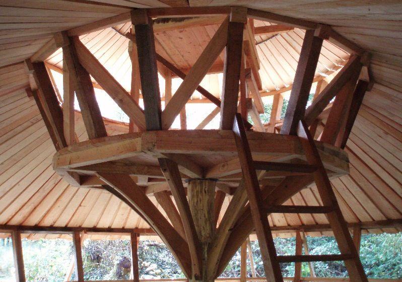 Round Homes Designs: Two-tier Yurt With Bill Coperthwaite