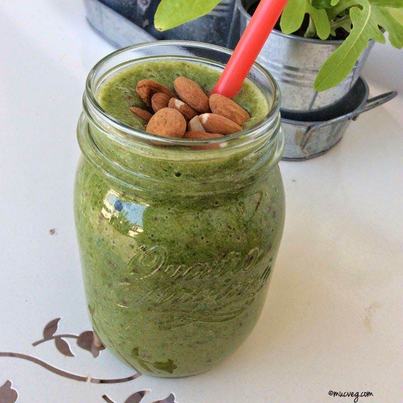 Bei Regina gab es einen absoluten Vitaminbooster: Green Smoothie.