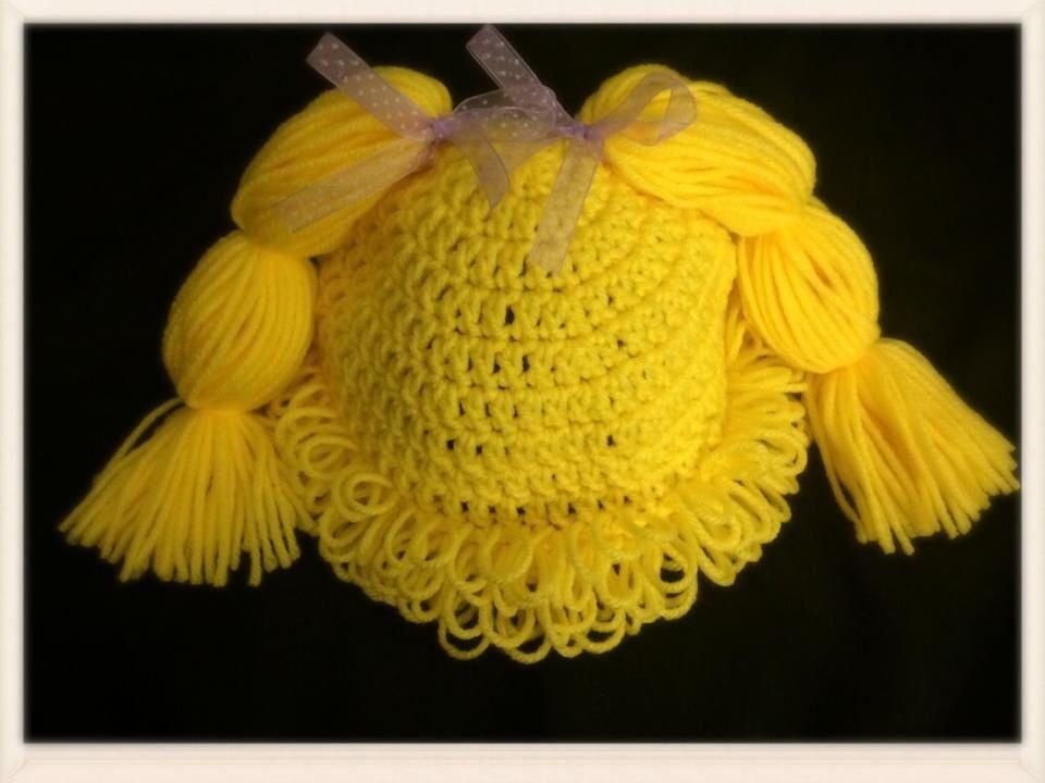 Cabbage Patch Doll  Follow me at:  https://www.facebook.com/Stormysmycrochetfun