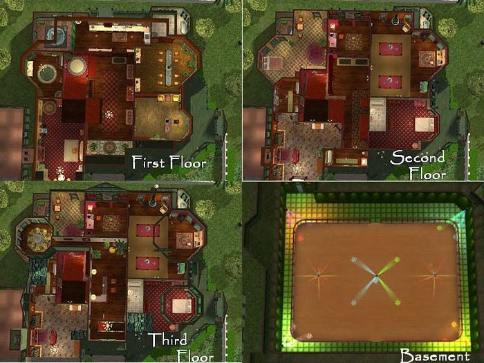 mansion floor plans sims 3. carson floor plan mansion plans sims 3