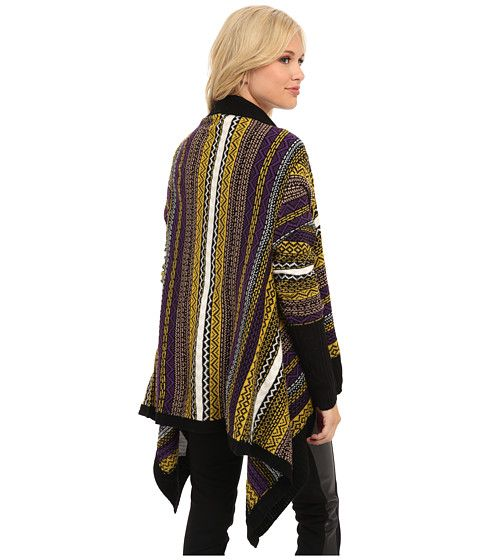 Yumi Aztec Waterfall Cardigan Multi-Colour - 6pm.com | Fall ...