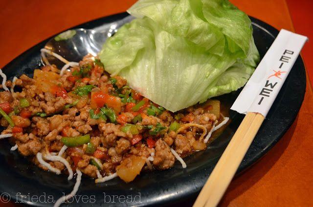 Frieda Loves Bread: Sriracha Pineapple Pork Lettuce Wraps