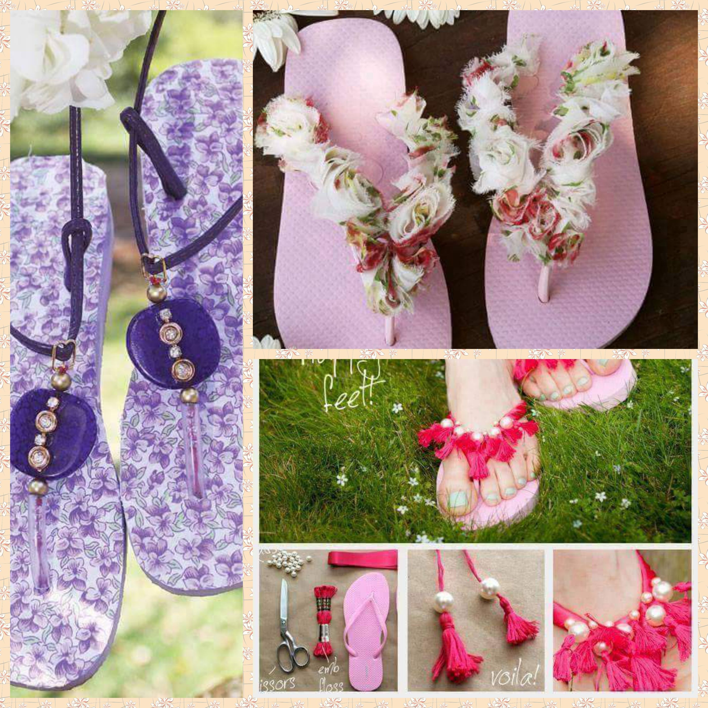 Diy Slipper Decoration Bachat Shoppie Online Craft Material Store