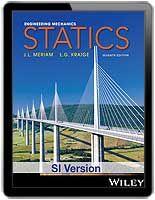 Engineering Mechanics Statics 7th Edition Si Version J L Meriam