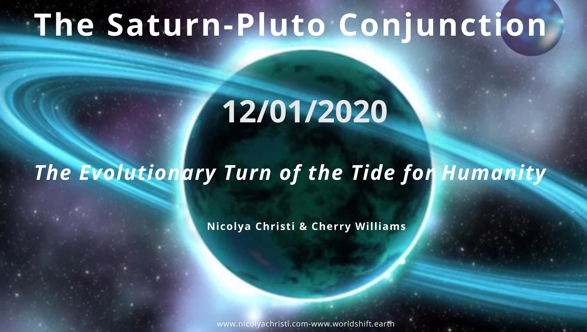 The Saturn Pluto Conjunction January 12 2020 Saturn
