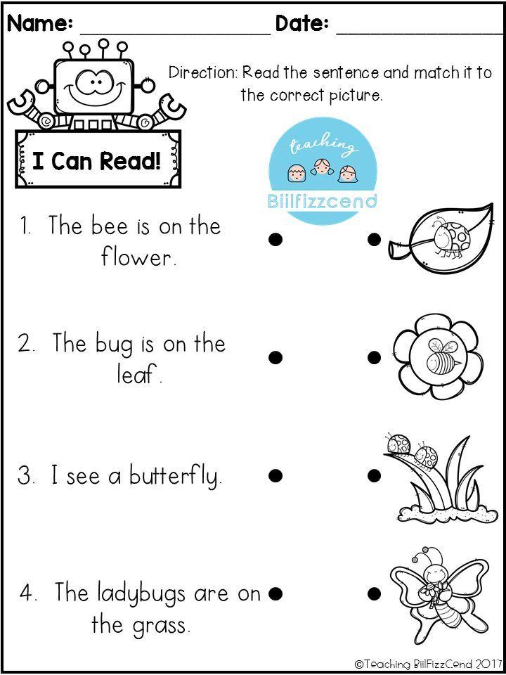 14+ Prek reading worksheets Images