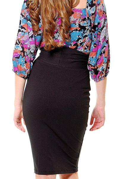 love this simple high-waisted black skirt. Only $26... the entire website is awesome!