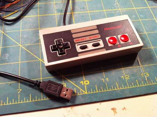 USB NES Controller - I need to make this.