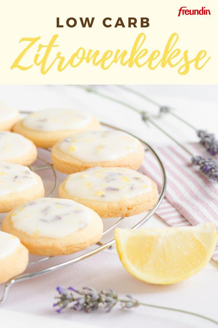 Diät-Rezept: Low-Carb-Zitronenkekse | freundin.de
