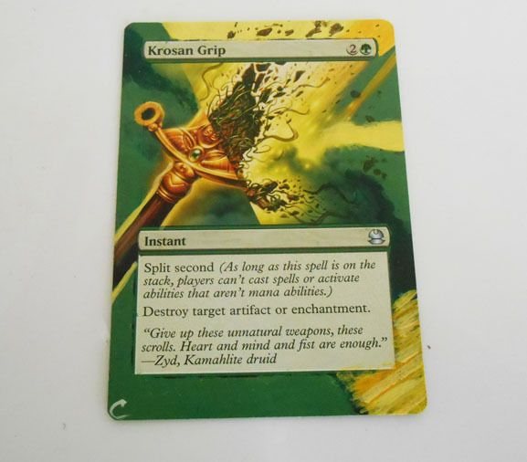 Mtg Altered Painted Krosan Grip Modern Masters Wizardsofthecoast
