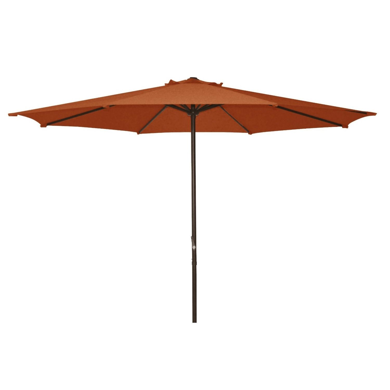 The 9 Ft Polyester Shade Market Umbrella Patio Umbrella With Crank Open  System Is Perfect For