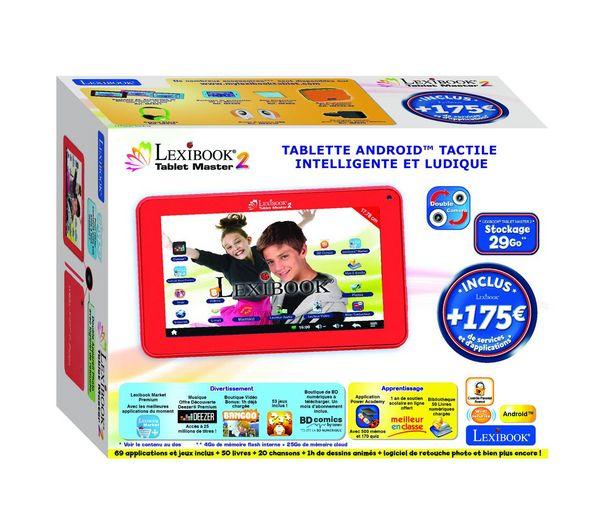 lexibook tablette master 7 pouces mfc157fr prix promo. Black Bedroom Furniture Sets. Home Design Ideas