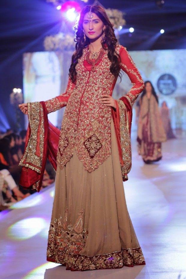 Wedding Bridal New Fashionable Dress Girls At Pbcw By Designer Rani Emaan 10 Pakistani Wedding Outfits Bridal Couture Week Fashion