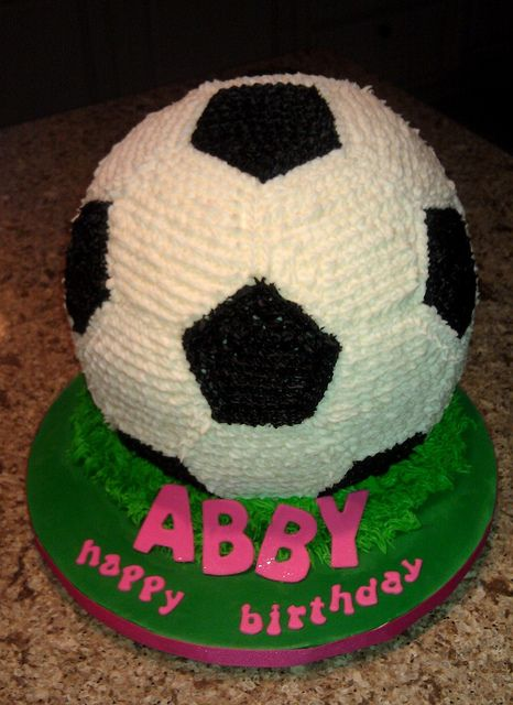 Soccer Ball Cake Soccer Ball Cake Cake Butter Cream